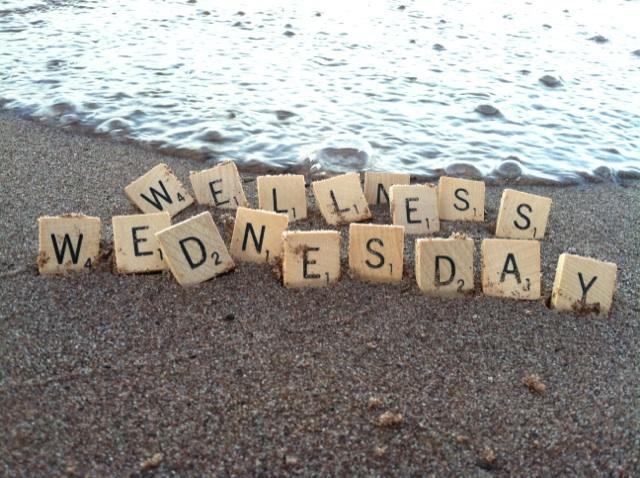Wellness Wednesday Scrabble Picture